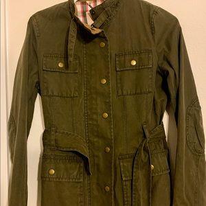 Banana Republic Army Green Utility Jacket